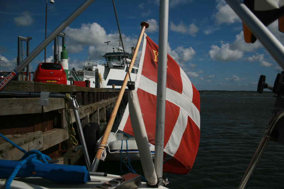 I Holbæk Havn
