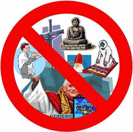Religionsfrit web site